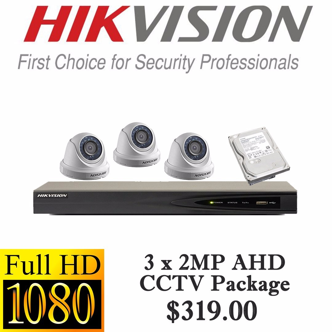 51445b4c5 HIKvision 1080P AHD CCTV Package 3