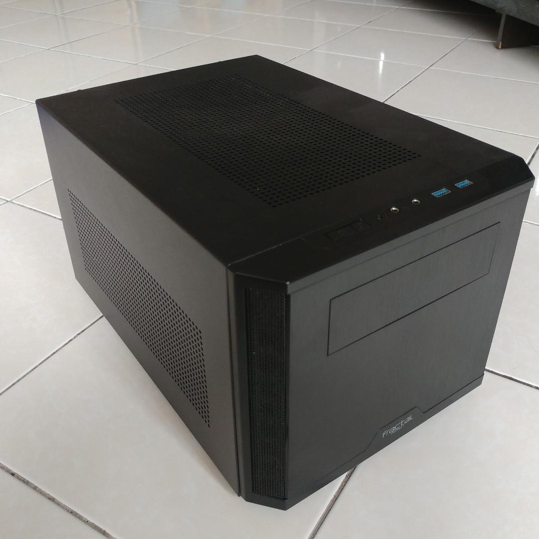 I7-8700K Gaming ITX PC, GTX1070, 16GB RAM, 512GB SSD, 5TB HDD