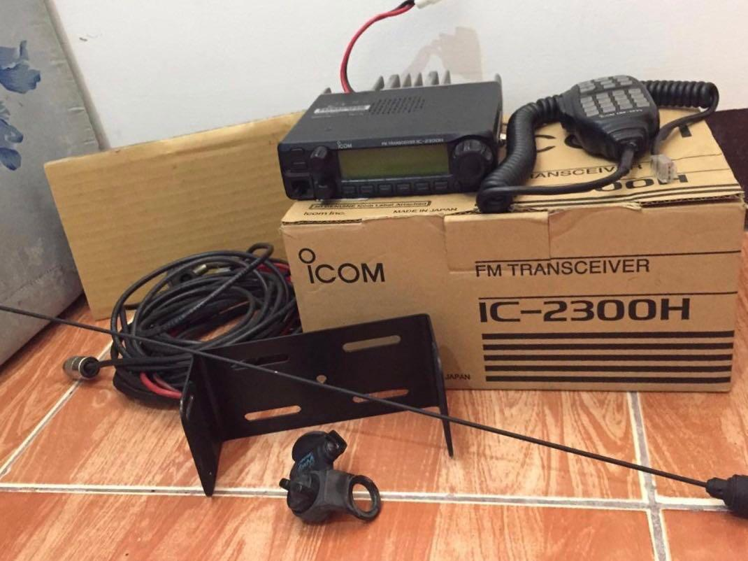 iCOM FM Transceiver (2-way Radio) on Carousell