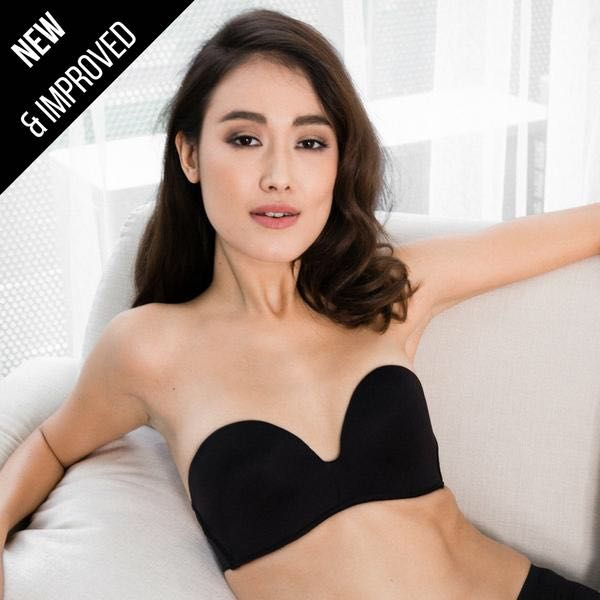3a73e1156 IMINXX 3rd Generation 100% Non-Slip 2-Way Strapless Everyday Bra ...