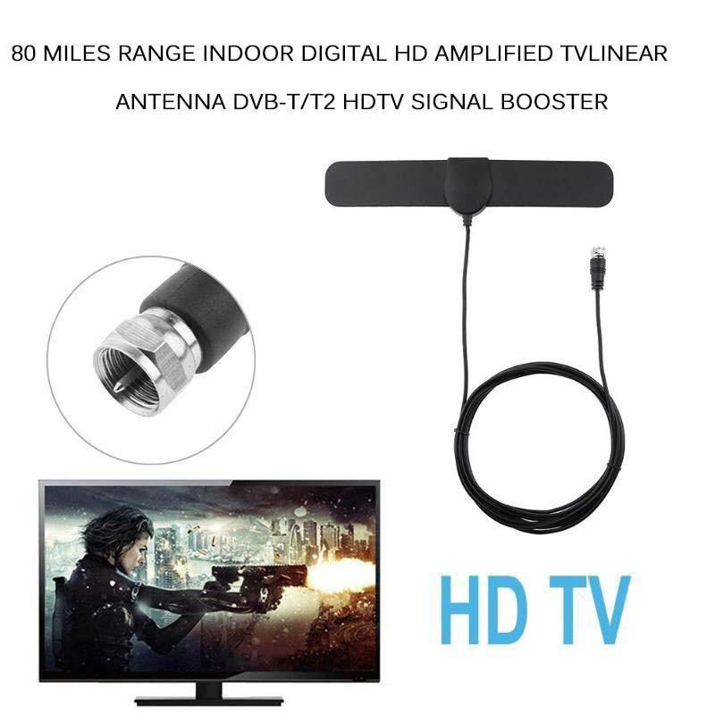 Indoor Digital HDTV Antenna Amplified 25miles Range