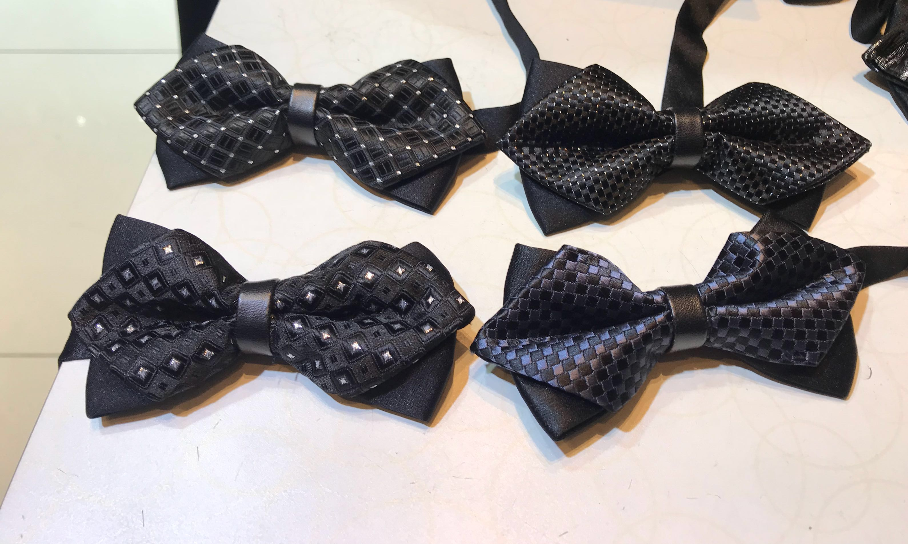 b92ed9ced802 Instock classic bow tie wedding accessories for bridegroom party tie ...