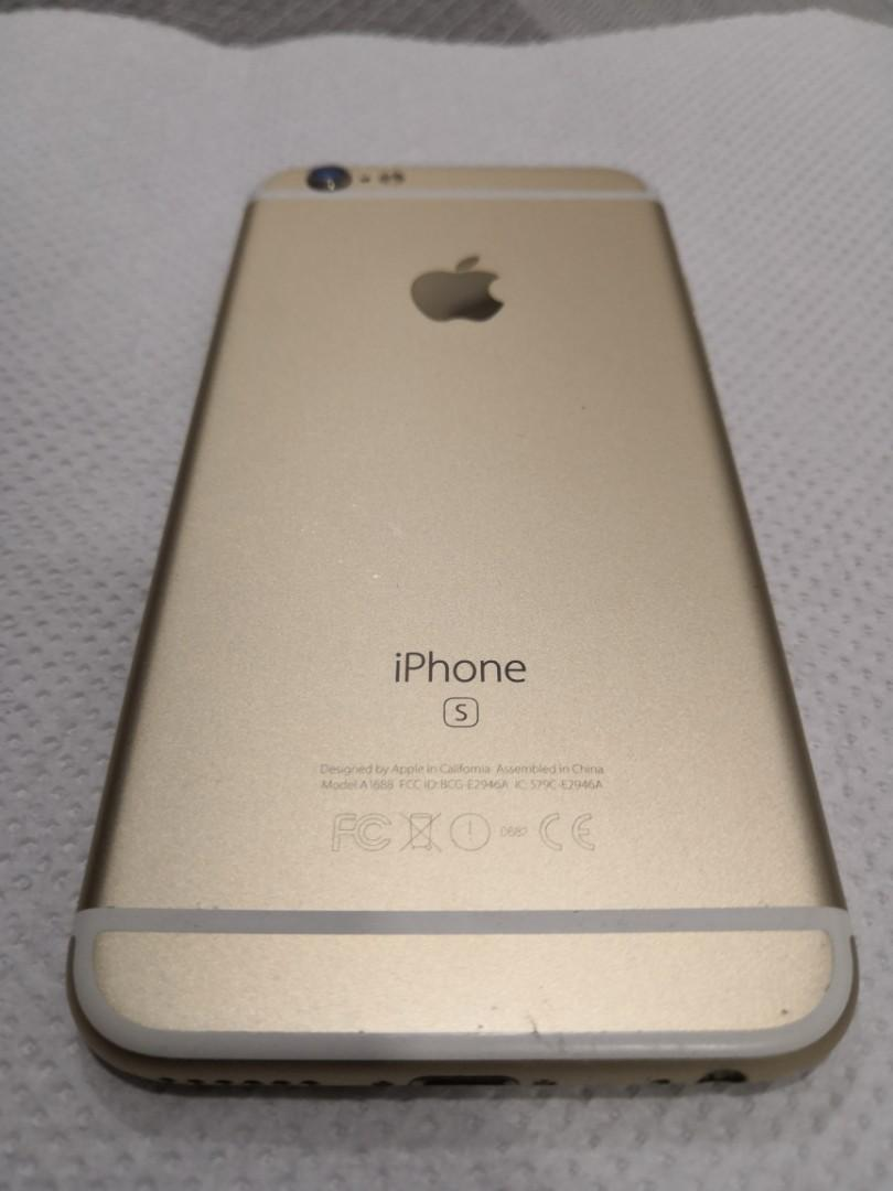 Iphone 6s 64GB Gold MY SET