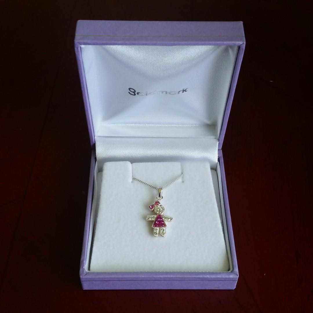 Little Girl Pendent Necklace