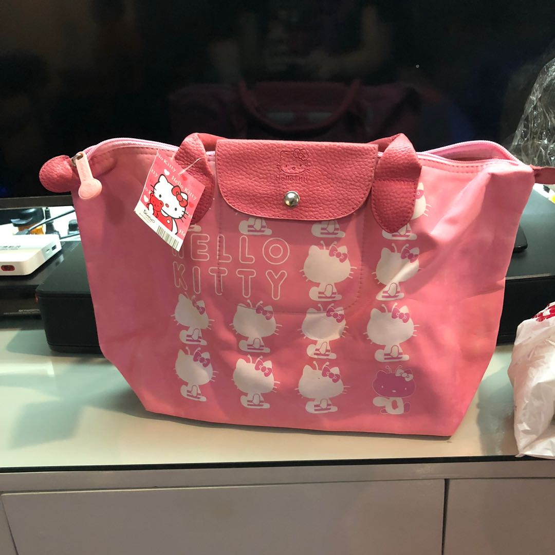 eb6f76d95f8d Longchamp inspired hello kitty bag