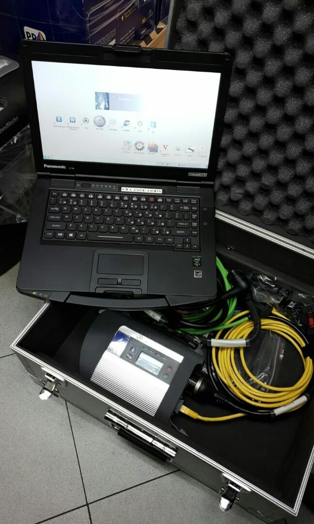 Mercedes Benz Xentry SD Connect C4 Automotive Diagnostic
