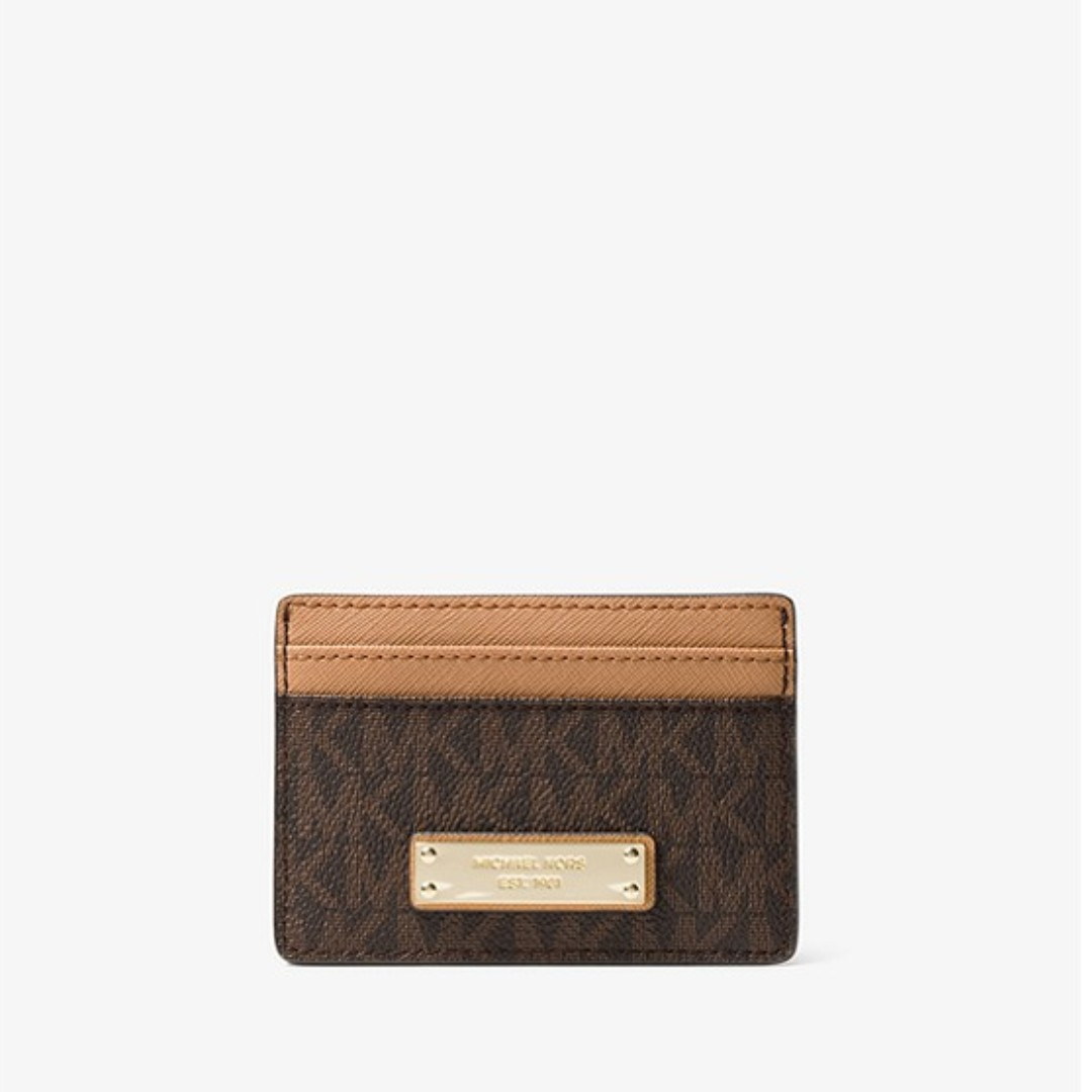 9d3ea3e6a65d Michael Kors Small Color-Block Pebbled Leather Wallet, Women's ...