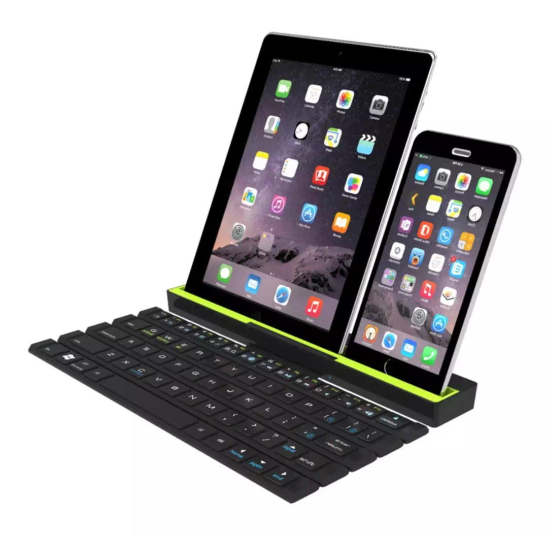 Mini rollable Bluetooth keyboard for mobile phone and tablet