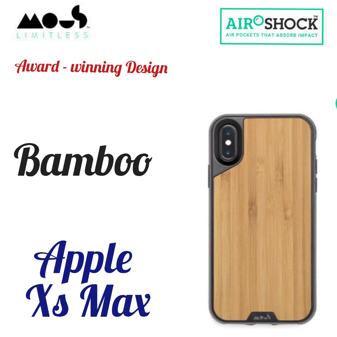 low priced a4f45 9dddd Mous limitless 2.0 iphone xs max Bamboo