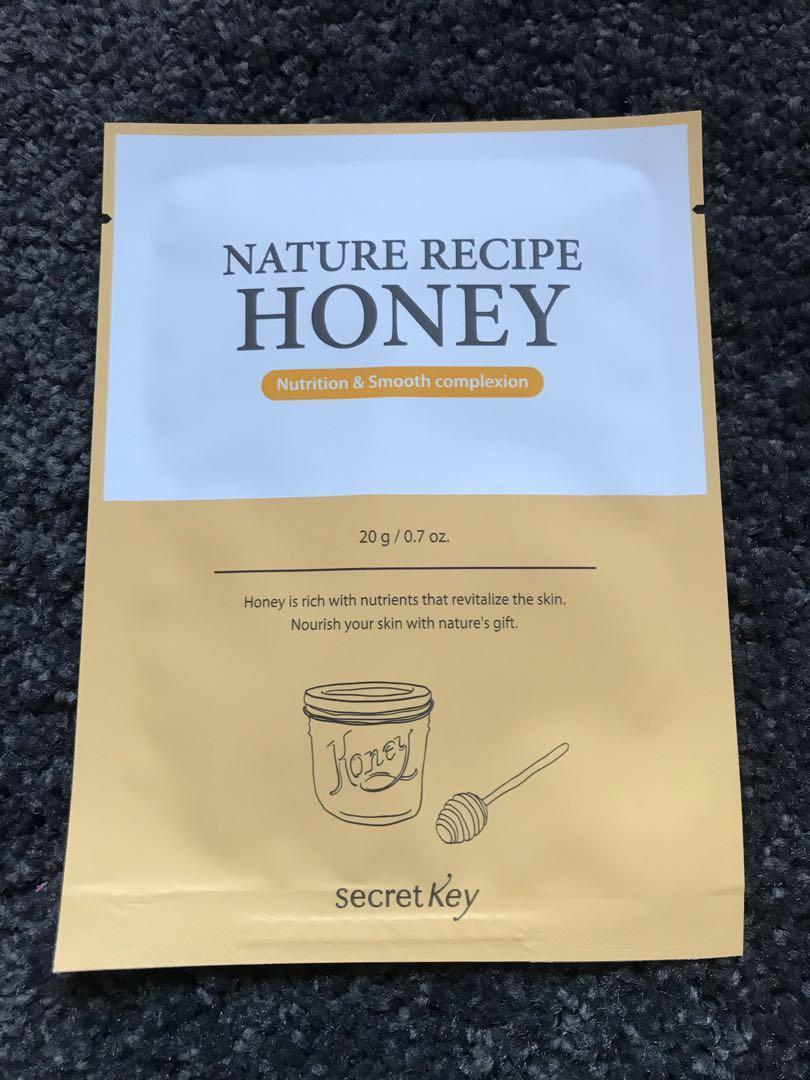 Nature Recipe Mask