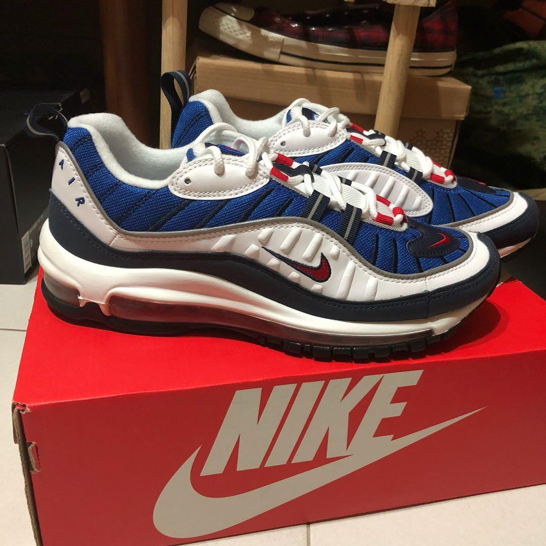 detailed look ef3b3 be3ab Nike Air max 98 Gundam, Men's Fashion, Footwear, Sneakers on ...