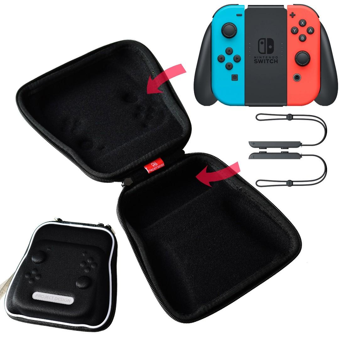 Switch充電握把便攜收納包 Nintendo Joy-Con 控制器手提式EVA保護包 (ns-010036) 歡迎電話 WhatsApp聯絡93872030