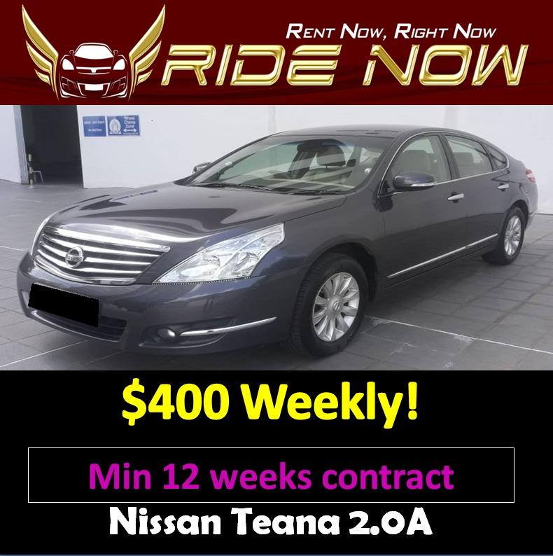 nissan teana 2 0a long term car rental cars vehicle rentals on rh sg carousell com