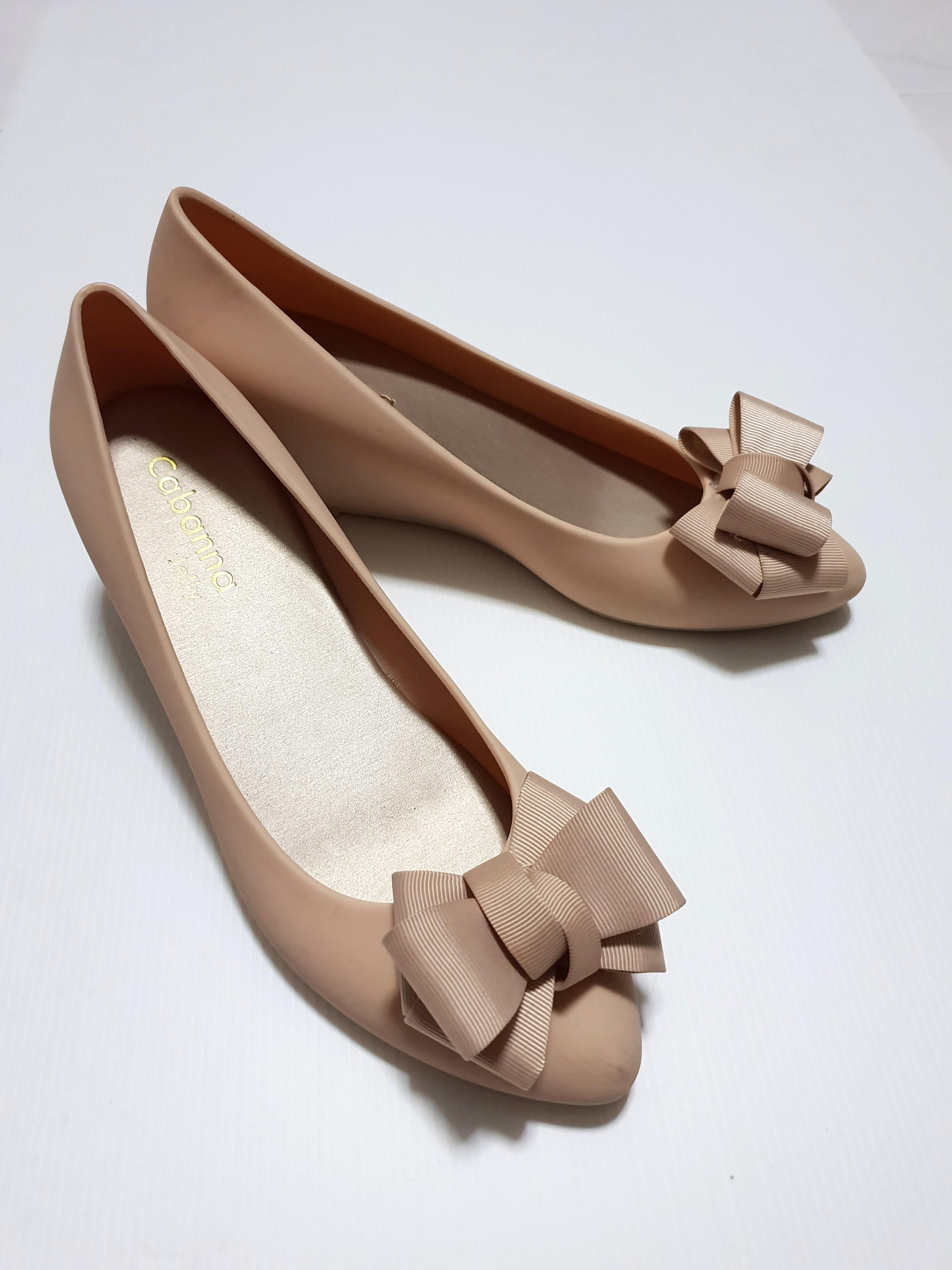456e15c53a33 Nude Pink Jelly Shoes (Cabanna)