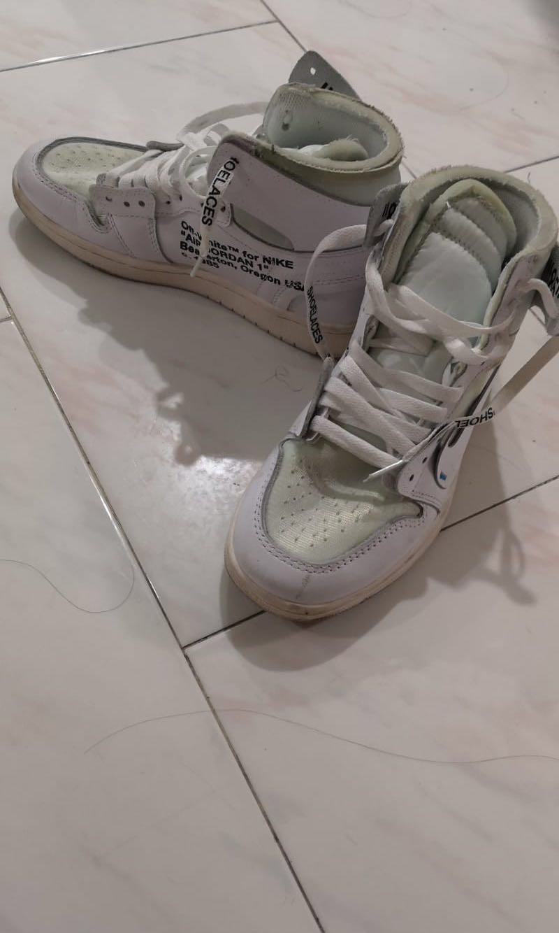 0c5f726da9 Off white x Nike Air Jordan, Men's Fashion, Footwear, Sneakers on ...