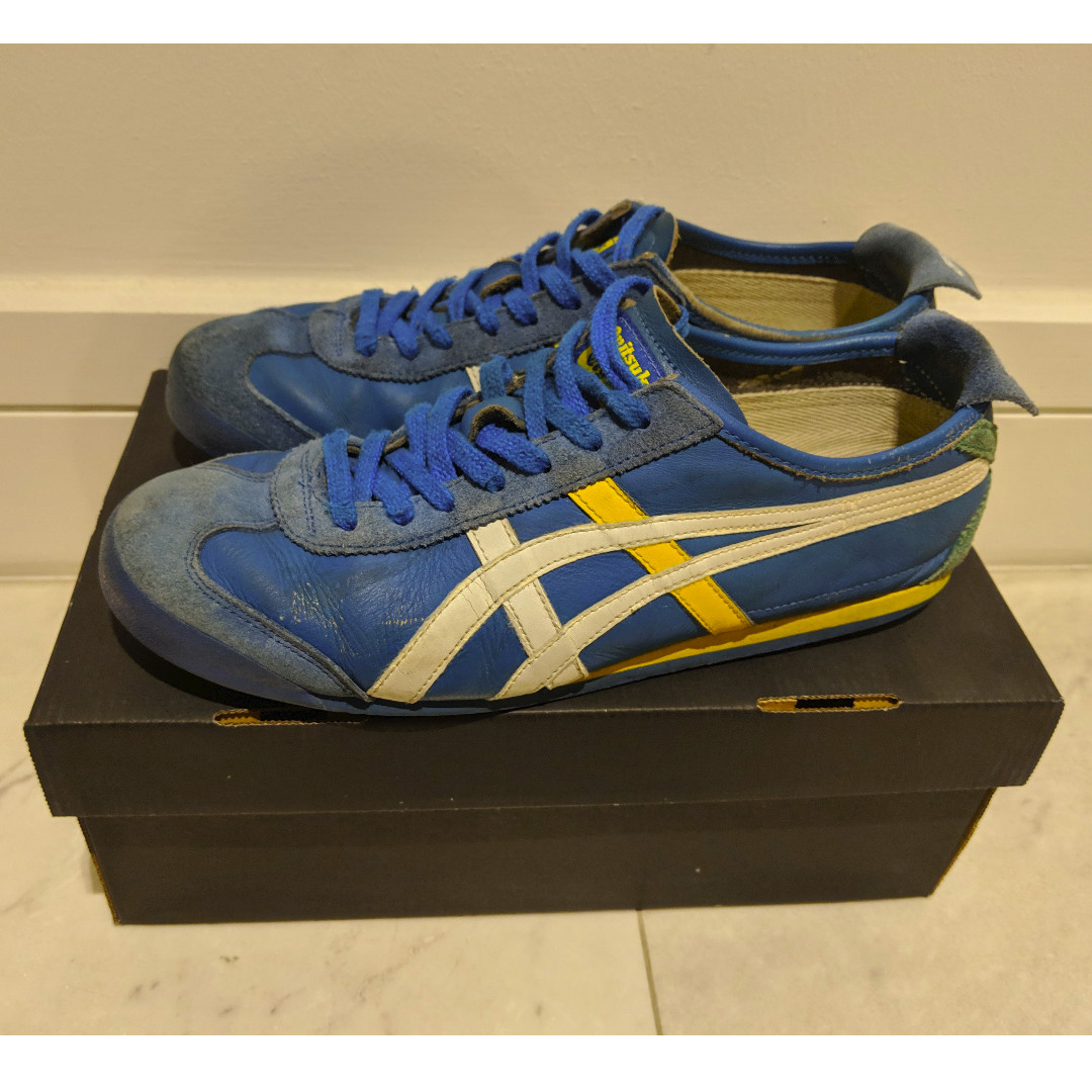 new style f4949 789cd Onitsukatiger Mexico 66 Saeculi - Blue/Yellow/White, Men's ...