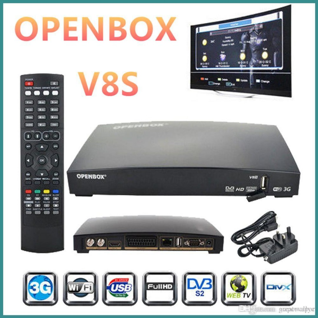 Openbox V8S HD Satellite TV Receiver Digital