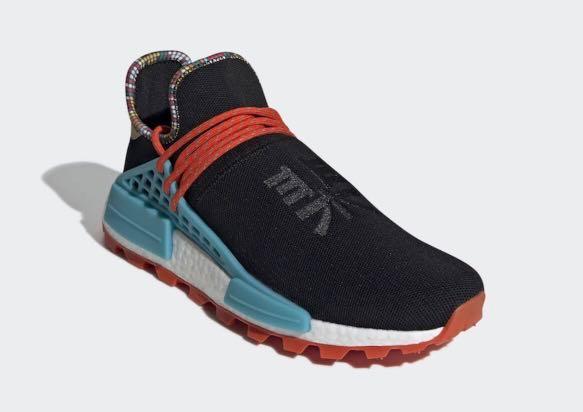 """best service 113d7 40b54 Pharrell Williams X Adidas NMD Hu """"Classic Black"""""""