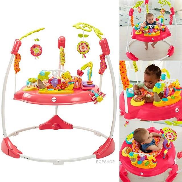 7c44a93ee93e PO  Fisher Price Jumperoo (Pink Petals)