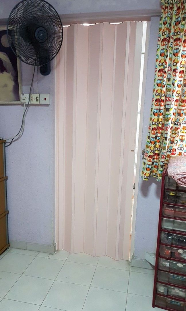 PVC Multi Folding Toilet Door, Furniture, Home Decor, Others