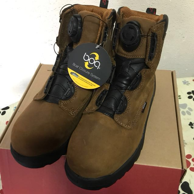 Red Wing Safety Boots with BOA system bdd4348ddd83