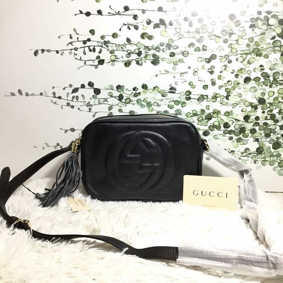 6d89613c092 Sale!! Brandnew Authentic Gucci Sling Bag (leather)