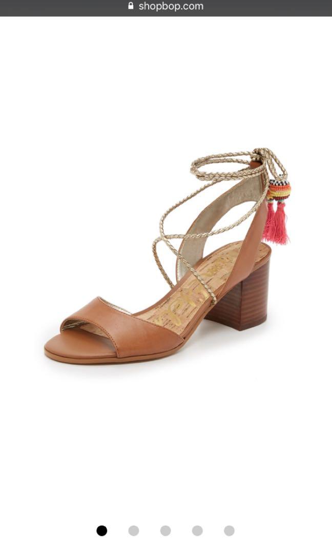 be8931c5160b Sam Edelman Shani Block Heel Sandals