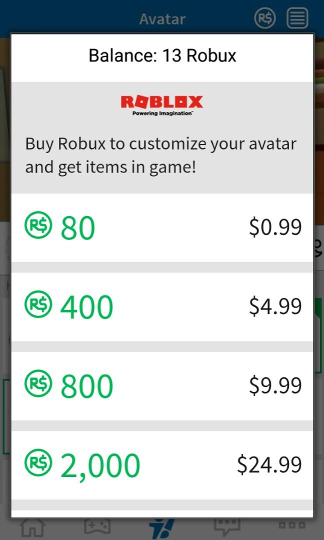 Roblox Buy Robux 80 | Free Robux 1000