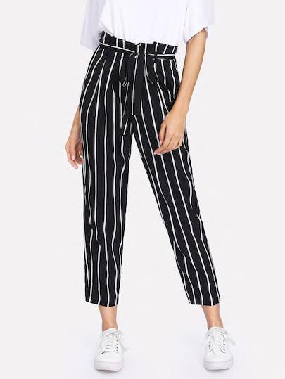 Shein Striped pants