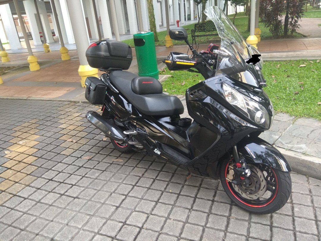 sym maxsym 400i coe renewable( 2022) 3 year+ to go mileage 50k good  condition no repair price can nago for view first only for sale
