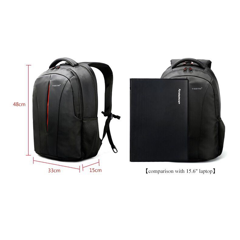 ef36bbe0c TigerNu T-B3105 15.6 Anti-theft backpack with free lock, Men's ...