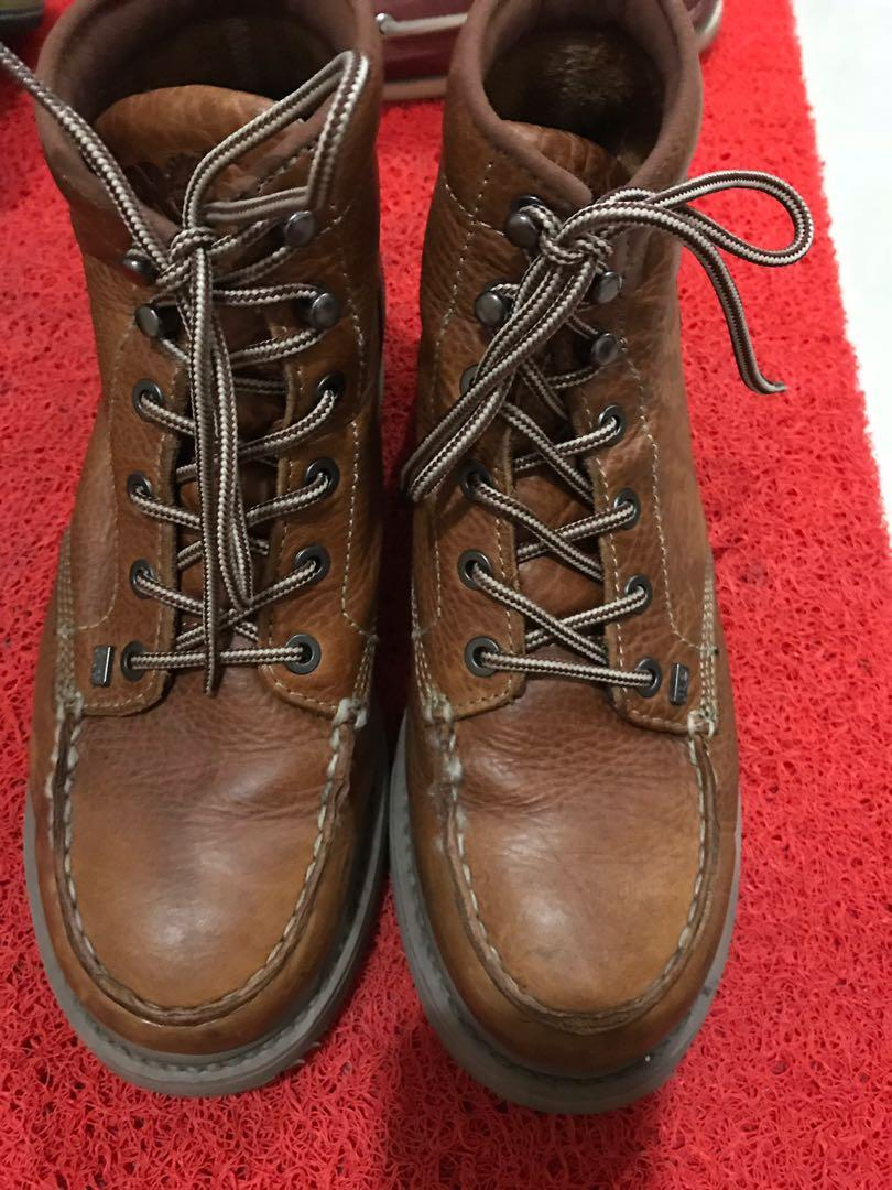BARSTOW WEDGE MOC SOFT TOE WORK BOOTS