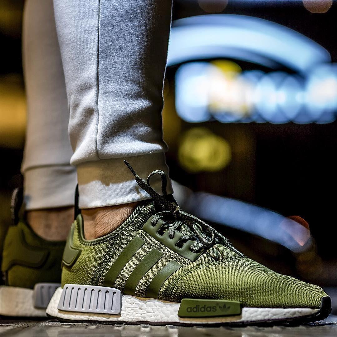 a95960d738b US 9 Adidas x Footlocker NMD R1 Olive Green