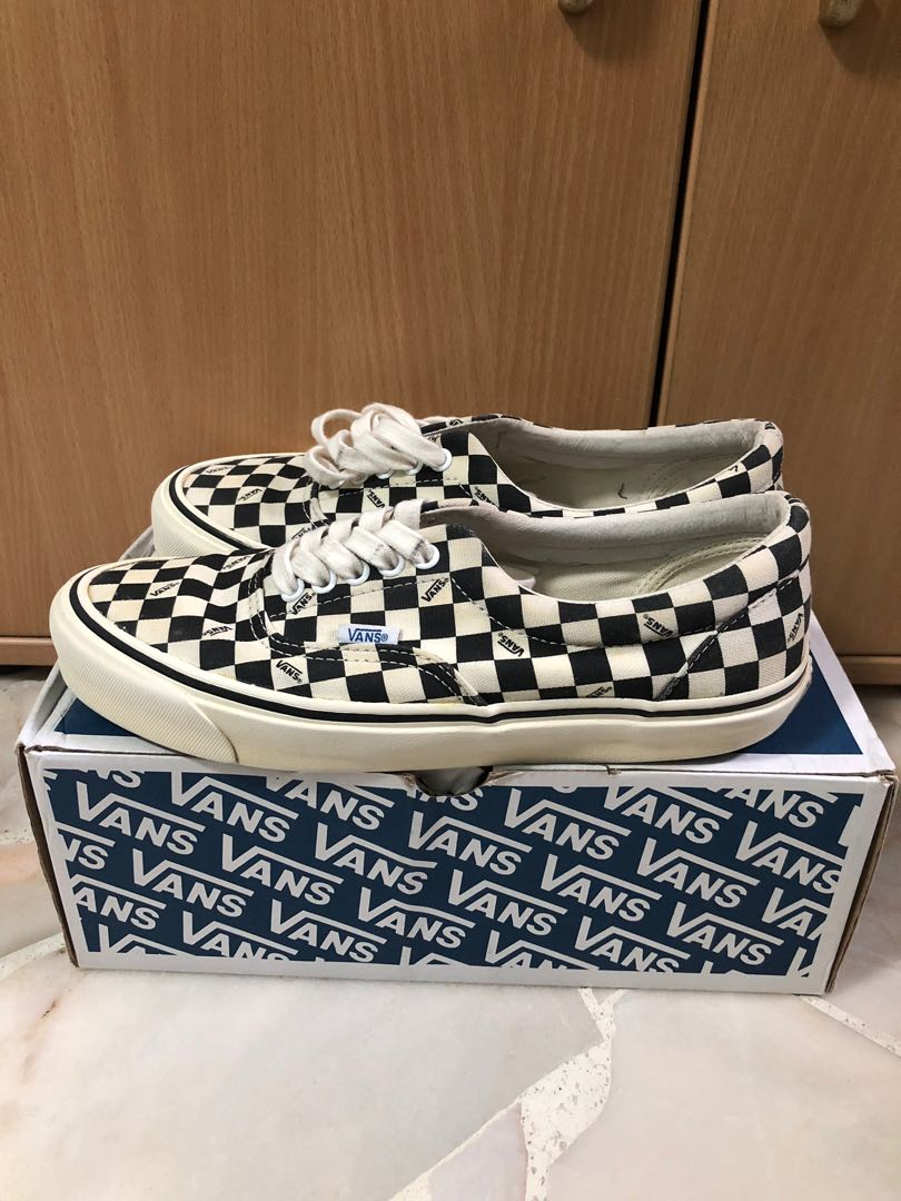 46267fd441 Vans vault og era lx checkerboard US9