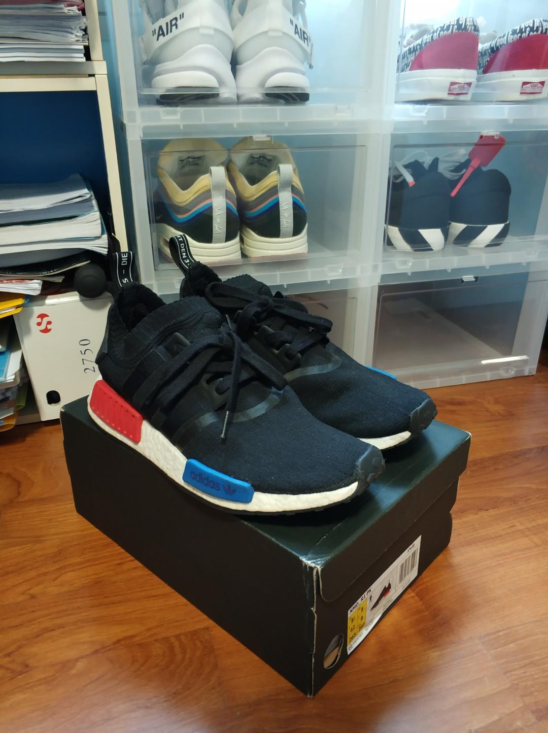 VNDS Adidas NMD R1 OG Black