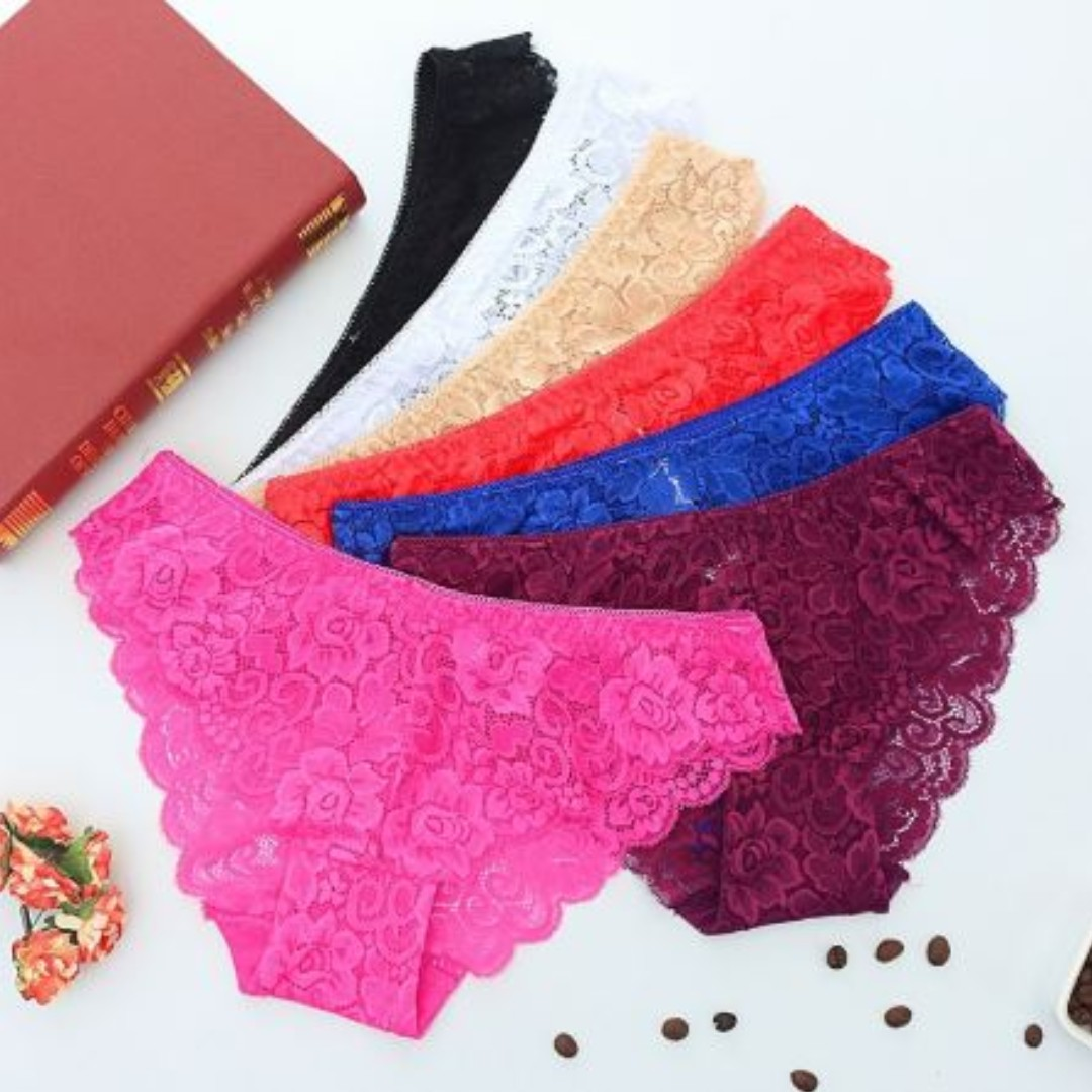 72ddaa62305 Women s Fashion Underwear Panties Lace Transparent Panties