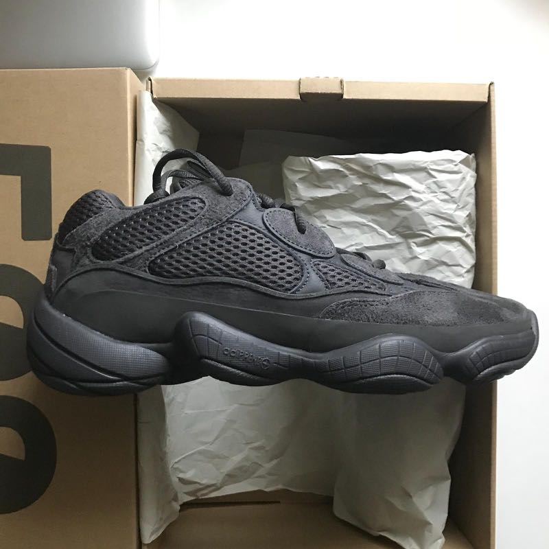 super popular c1a5a e8209 Yeezy 500 utility black