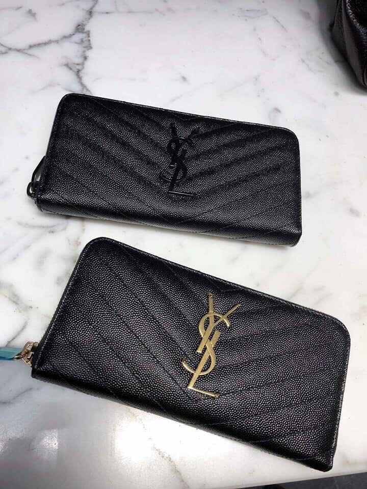 dab4d6fabe YSL Zip Wallet 100% authentic