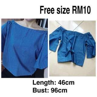 All RM10 Off Shoulder Top