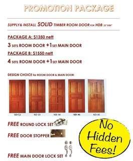 Wooden Door Call Us 97108558