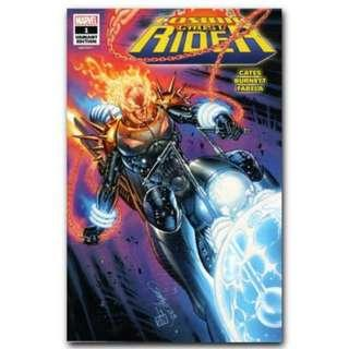 Cosmic Ghost Rider #1 Campbell SDCC exclusive Glow in the Dark  variant