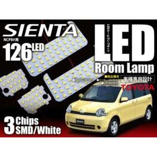 豐田 TOYOTA SIENTA 80系 專用 LED 房燈 LED ROOM LAMP NCP 80 81 85 Dice
