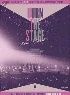 Burn The Stage Movie (3 Seats)