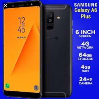 Bisa Kredit Samsung A6+ Bunga 0%