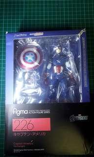 Figma Captain America Fake