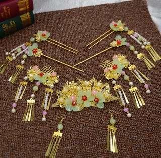 中式頭飾物