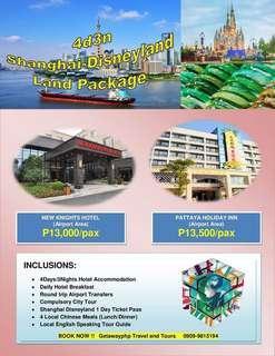 4d3n Shanghai with Disneyland Land Package