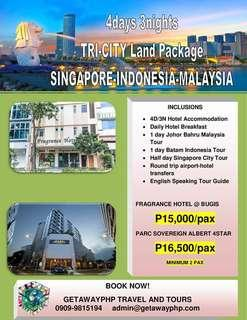 4d3n TRI CITY SIN-MAL-INDO LAND PACKAGE