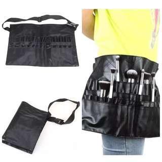 Makeup Brushes Apron Bag with Belt