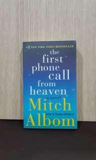 The First Phone Call from Heaven by Mitch Albom - English Novel
